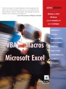 Ebook in inglese VBA and Macros for Microsoft Excel Jelen, Bill , Syrstad, Tracy