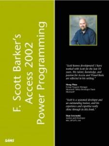 Ebook in inglese F. Scott Barker's Microsoft Access 2002 Power Programming Barker, F. Scott