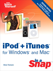 Ebook in inglese iPod + iTunes for Windows and Mac in a Snap Tiemann, Brian