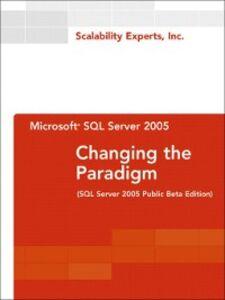 Foto Cover di Microsoft SQL Server 2005, Ebook inglese di Scalability Experts, Inc., edito da Pearson Education