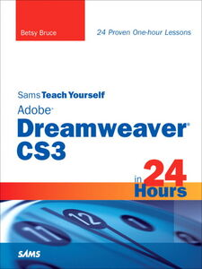Ebook in inglese Sams Teach Yourself Adobe Dreamweaver CS3 in 24 Hours Bruce, Betsy