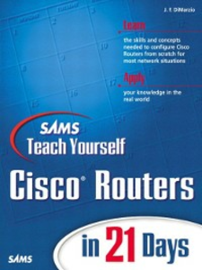 Ebook in inglese Sams Teach Yourself Cisco® Routers in 21 Days DiMarzio, Jerome F.