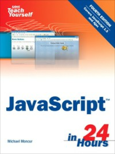 Ebook in inglese Sams Teach Yourself JavaScript™ in 24 Hours Moncur, Michael
