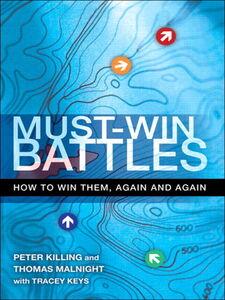 Ebook in inglese Must-Win Battles Keys, Tracey , Killing, Peter , Malnight, Thomas