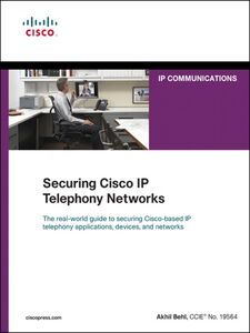 Foto Cover di Securing Cisco IP Telephony Networks, Ebook inglese di Akhil Behl, edito da Pearson Education