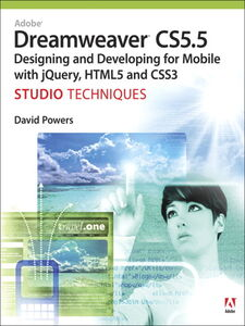 Ebook in inglese Adobe Dreamweaver CS5.5 Studio Techniques Powers, David