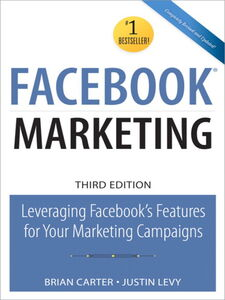 Foto Cover di Facebook Marketing, Ebook inglese di Brian Carter,Justin Levy, edito da Pearson Education