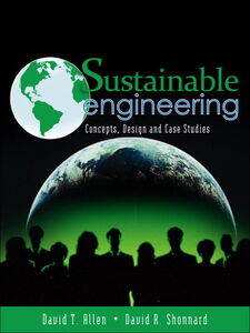 Foto Cover di Sustainable Engineering, Ebook inglese di David T. Allen,David R. Shonnard, edito da Pearson Education