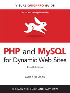 Ebook in inglese PHP and MySQL for Dynamic Web Sites Ullman, Larry