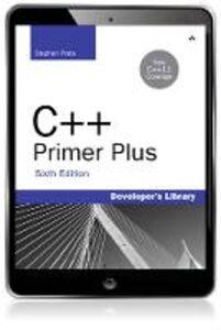 Foto Cover di C++ Primer Plus, Ebook inglese di Stephen Prata, edito da Pearson Education