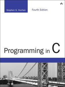 Ebook in inglese Programming in C Kochan, Stephen G.