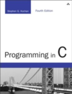 Ebook in inglese Programming in C Kochan, Stephen G.
