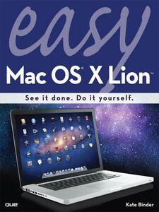 Ebook in inglese Easy Mac OS X Lion Binder, Kate