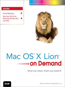 Ebook in inglese Mac OS X Lion on Demand Inc., Perspection , Johnson, Steve