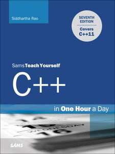 Ebook in inglese Sams Teach Yourself C++ in One Hour a Day Rao, Siddhartha