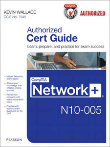 Ebook in inglese CompTIA Network+ N10-005 Authorized Cert Guide Wallace, Kevin