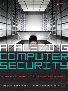 Foto Cover di Analyzing Computer Security, Ebook inglese di Charles P. Pfleeger,Shari Lawrence Pfleeger, edito da Pearson Education