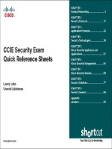 Ebook in inglese CCIE Security Exam Quick Reference Sheets (Digital Short Cut) Lakshman, Umesh , Lobo, Lancy