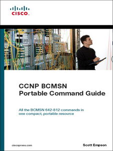 Ebook in inglese CCNP BCMSN Portable Command Guide Empson, Scott