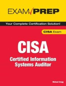 Ebook in inglese CISA Exam Prep Gregg, Michael