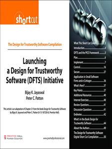 Foto Cover di Design for Trustworthy Software, Ebook inglese di Bijay K. Jayaswal,Peter C. Patton, edito da Pearson Education