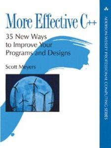 Ebook in inglese More Effective C++ Meyers, Scott