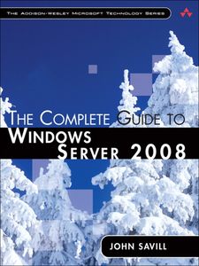 Ebook in inglese Complete Guide to Windows Server 2008, The Savill, John