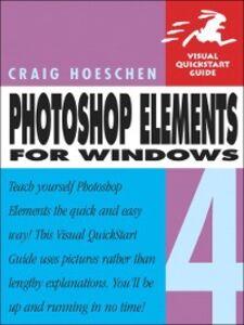 Ebook in inglese Photoshop Elements 4 for Windows Hoeschen, Craig