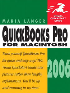 Ebook in inglese QuickBooks Pro 2006 for Macintosh Langer, Maria
