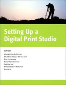 Ebook in inglese Setting Up a Digital Print Studio Canfield, Jon