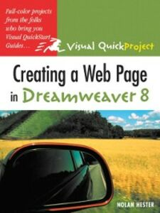 Ebook in inglese Creating a Web Page in Dreamweaver 8 Hester, Nolan