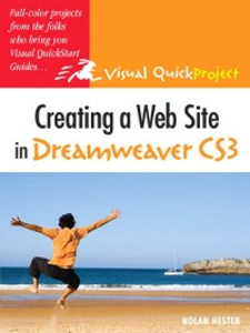 Ebook in inglese Creating a Web Site in Dreamweaver CS3 Hester, Nolan