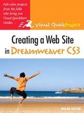 Creating a Web Site in Dreamweaver CS3