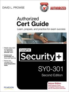 Ebook in inglese CompTIA Security+ SY0-301 Authorized Cert Guide, Deluxe Edition Prowse, David L.