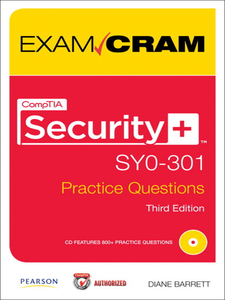 Ebook in inglese CompTIA Security+ SY0-301 Authorized Practice Questions Exam Cram Barrett, Diane