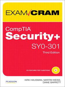 Foto Cover di CompTIA Security+ SY0-301 Authorized Exam Cram, Ebook inglese di AA.VV edito da Pearson Education