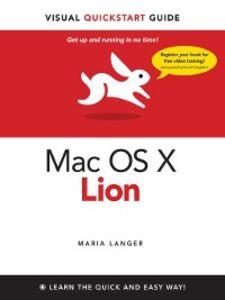 Ebook in inglese Mac OS X Lion Langer, Maria