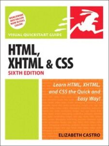 Foto Cover di HTML, XHTML, and CSS, Ebook inglese di Elizabeth Castro, edito da Pearson Education