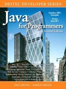 Foto Cover di Java™ for Programmers, Ebook inglese di Harvey M. Deitel,Paul Deitel, edito da Pearson Education