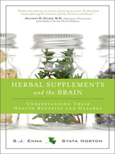 Ebook in inglese Herbal Supplements and the Brain Enna, S.J. , Norton, Stata