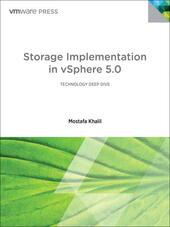 Storage Implementation in vSphere 5.0
