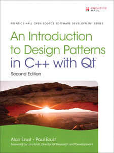 Foto Cover di An Introduction to Design Patterns in C++ with Qt, Ebook inglese di Alan Ezust,Paul Ezust, edito da Pearson Education