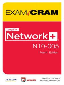 Ebook in inglese CompTIA Network+ N10-005 Authorized Exam Cram Dulaney, Emmett , Harwood, Michael