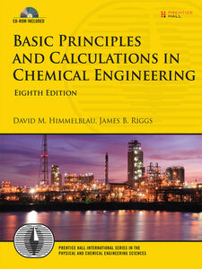 Ebook in inglese Basic Principles and Calculations in Chemical Engineering Himmelblau, David M. , Riggs, James B.