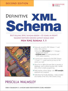 Foto Cover di Definitive XML Schema, Ebook inglese di Priscilla Walmsley, edito da Pearson Education