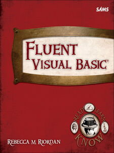 Ebook in inglese Fluent Visual Basic Riordan, Rebecca M.