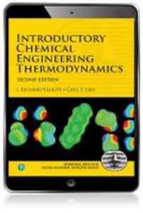 Ebook in inglese Introductory Chemical Engineering Thermodynamics Elliott, J. Richard , Lira, Carl T.