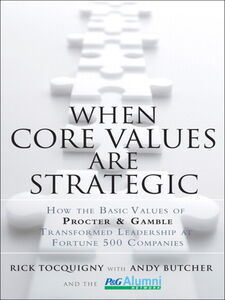 Ebook in inglese When Core Values Are Strategic Tocquigny, Rick