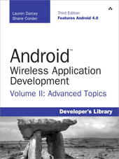 Android™ Wireless Application Development Volume II