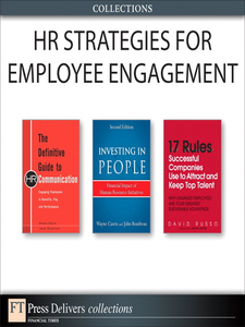 Ebook in inglese HR Strategies for Employee Engagement Boudreau, John , Cascio, Wayne , Davis, Alison , Russo, David